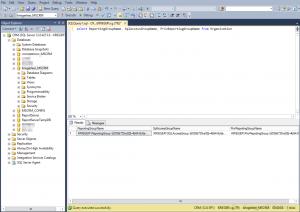 Suche nach der GUID eine CRM Datenbank